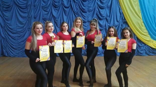 Танцевальная группа фитнес-клуба «Южная звезда» заняла первое место на чемпионате области
