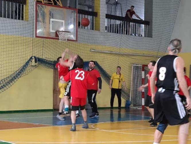 В Константиновке, прошла финальная игра первенства по баскетболу среди любителей