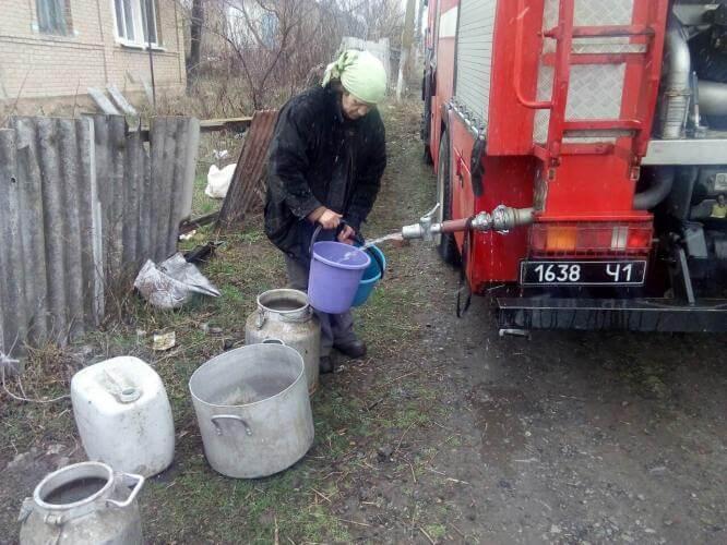 Без водоснабжения остались 13 населенных пунктов Константиновского района