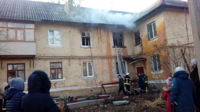 В Константиновке на пожаре погибла женщина