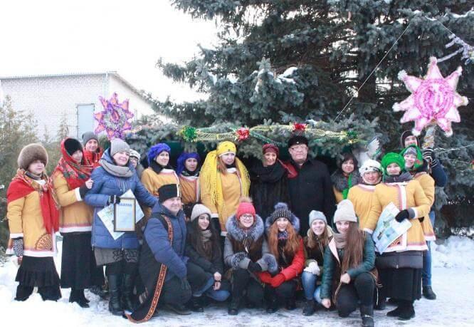 Константиновка приняла участие в фестивале «Рождественский перезвон»
