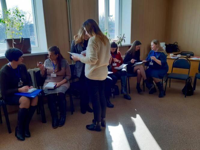 В Константиновке состоялсь областное мероприятие для практических психологов