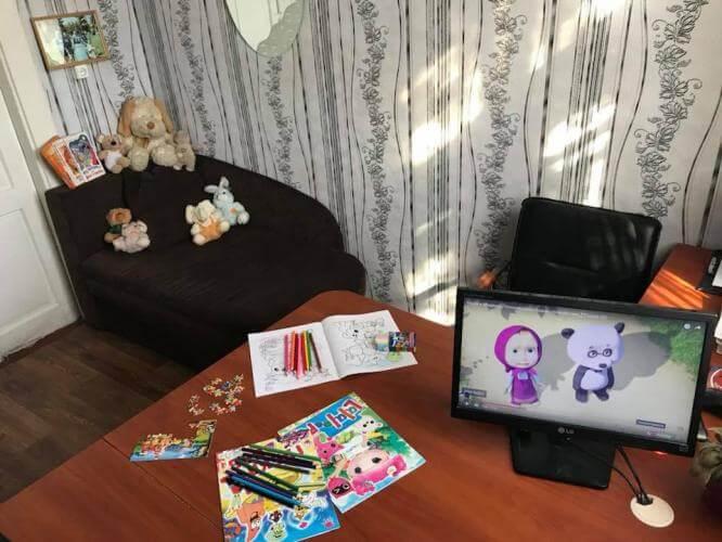 В Константиновском отделении полиции открылся «детский уголок»