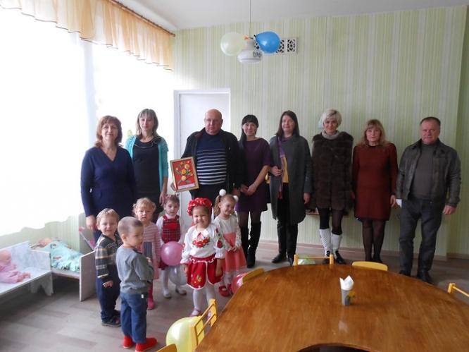 В детском саду №23 Константиновки состоялось открытие группы раннего возраста