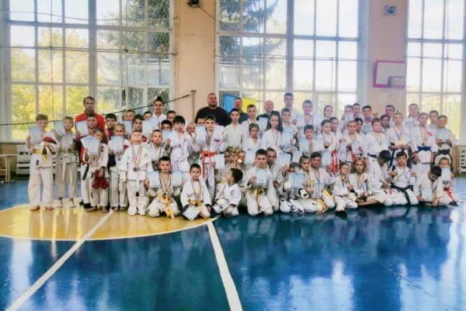 Константиновка приняла Кубок Донецкой области по традиционному каратэ