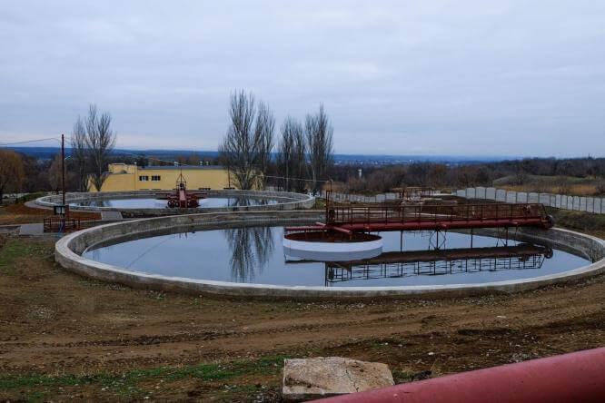 В Константиновке после реконструкции открыли очистные сооружения