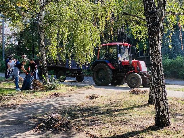 Константиновка присоединилась к Международной акции Всемирный день уборки «World Cleanup Day»