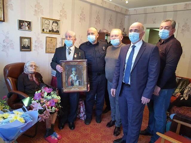 Жительнице Константиновки 25 апреля исполнилось 100 лет