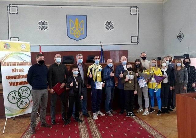 Лучшим спортсменам Константиновки вручили денежные сертификаты