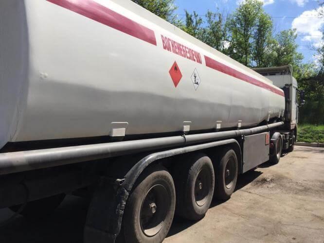 В Константиновке конфисковали нелегальный бензин стоимостью более миллиона гривен