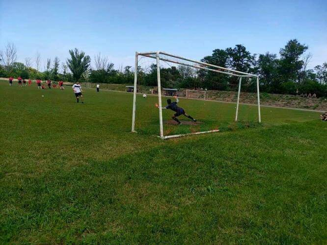 В Константиновке состоялось открытое первенство по футболу среди взрослого населения