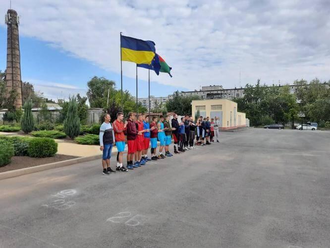 В Константиновке состоялся Открытый турнир по баскетболу 3×3
