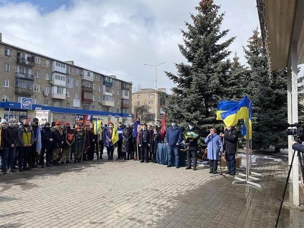 В Константиновке прошли мероприятия по случаю День рождения Тараса Шевченко