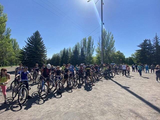 Константиновка присоединилась к спортивному мероприятию «ВелоДонетчина».