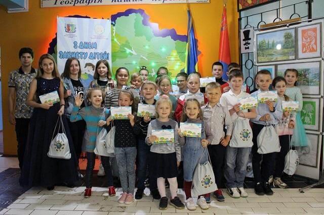 В Константиновке наградили 45 одаренных детей