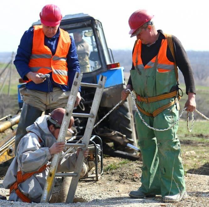 За 3 недели специалисты Константиновского ПУВКХ ликвидировали 81 порыв на водоводах