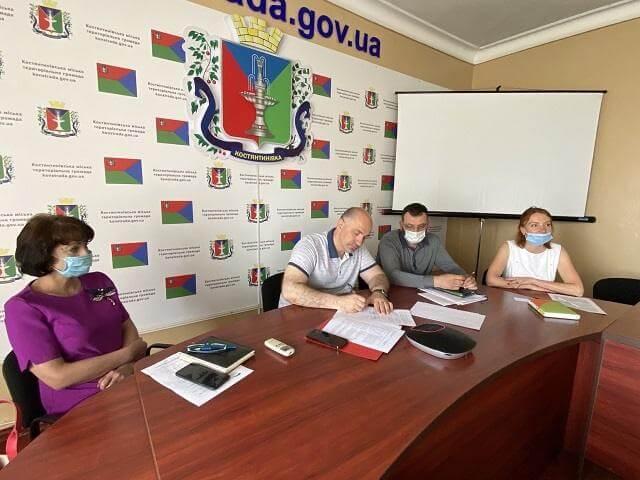 Константиновская городская территориальная община подписала меморандум с ЮНИСЕФ
