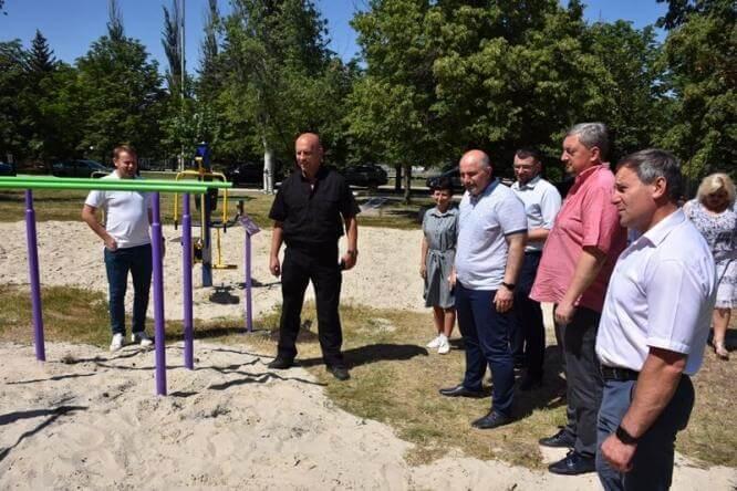 В Константиновке появится активный парк со свободным доступом в любое время