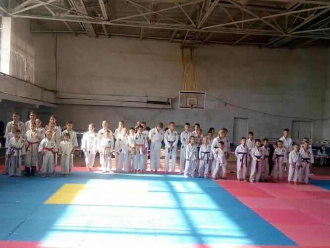 Константиновцы первые на областном турнире по рукопашному бою
