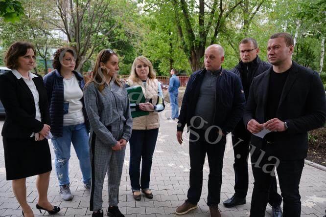 Константиновку с рабочим визитом посетил Павел Кириленко