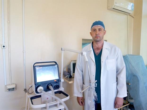 В Константиновке появился аппарат искусственной вентиляции легких