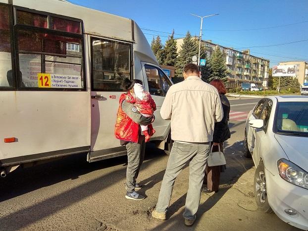 В Константиновке произошло ДТП с участием маршрутки