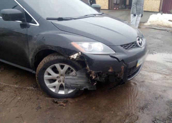 В Константиновке водитель иномарки сбил пешехода и скрылся