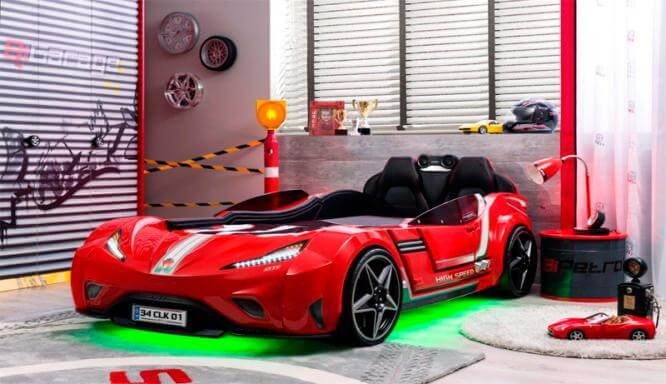 Действительно ли детская кровать-автомобиль стоит своих денег?