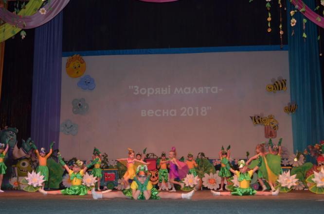 В Константиновке прошел фестиваль детского творчества «Звездные малыши - весна 2018»