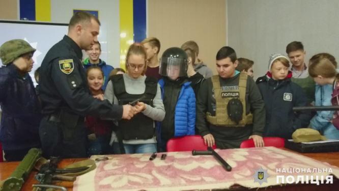 В Константиновском отделении полиции прошел день открытых дверей