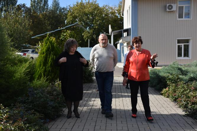 Заместитель председателя Донецкой ОГА посетил Константиновский дом-интернат