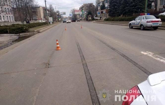 В Константиновке водитель Daewoo сбил 8-летнего велосипедиста