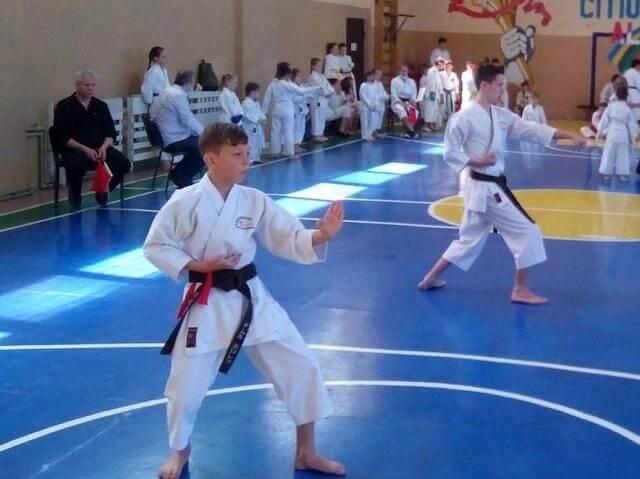 Константиновские спортсмены стали победителями на чемпионате области по традиционному каратэ