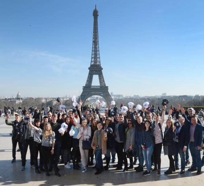 Борис Колесников показал студентам Донетчины ведущий агрофорум в Париже
