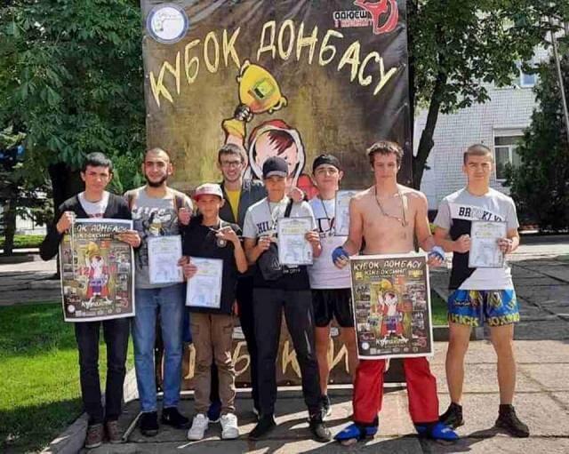 7 медалей - результат спортсменов Константиновки на Кубке Донбасса по кикбоксингу