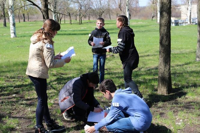В Константиновке прошли соревнования по спортивному ориентированию памяти С.Исаева
