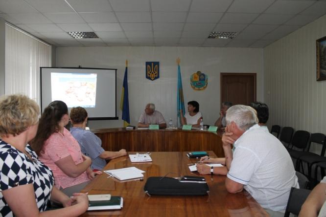 В Константиновском районе обсудили реформу децентрализации