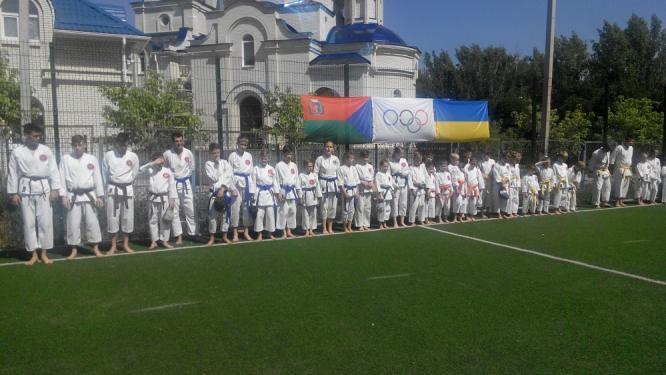В Константиновке состоялся открытый городской турнир по традиционному каратэ