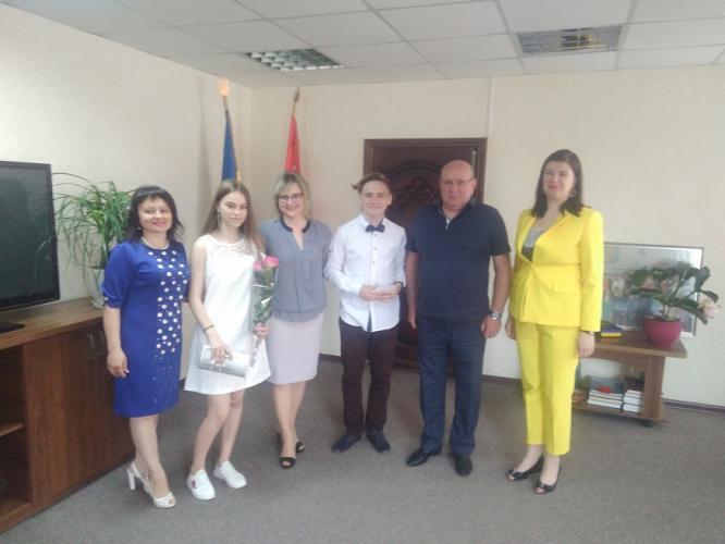 В Константиновке наградили одаренных учащихся города