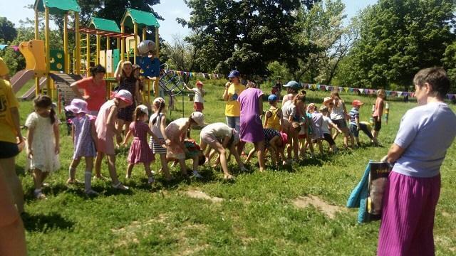 В Константиновке состоялись мероприятия, посвященные дню защиты детей