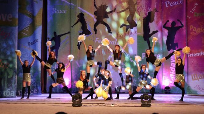 Студенты из Константиновки одержали победу на чемпионате области по черлидингу
