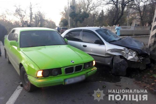 Житель Константиновки попал в ДТП под Дружковкой