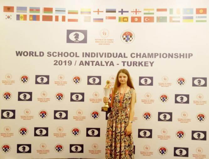 Краматорчанка завоевала бронзу на Чемпионате мира по шахматам