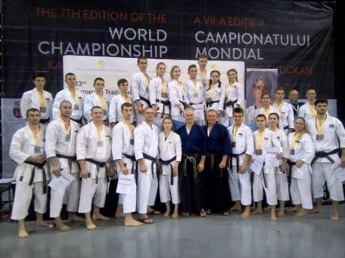 Константиновцы - призеры чемпионата Европы по традиционному каратэ