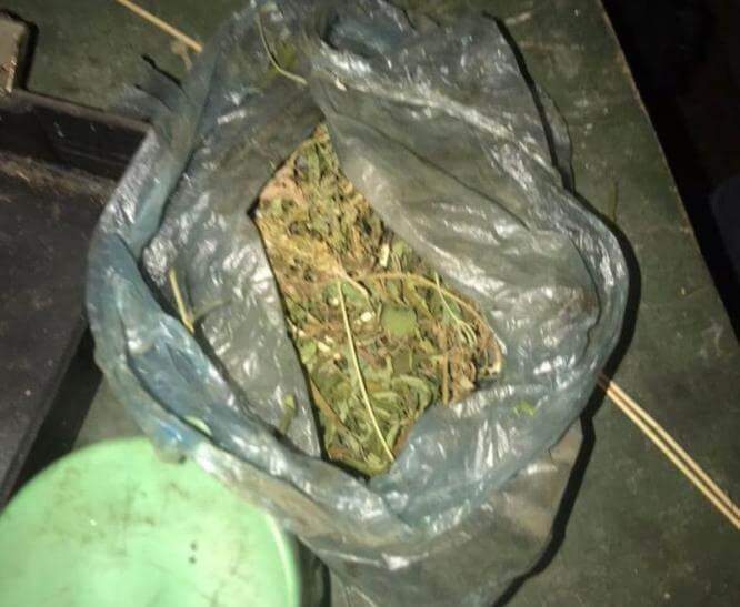Полицейские Константиновки изъяли наркотики у 41-летнего местного жителя