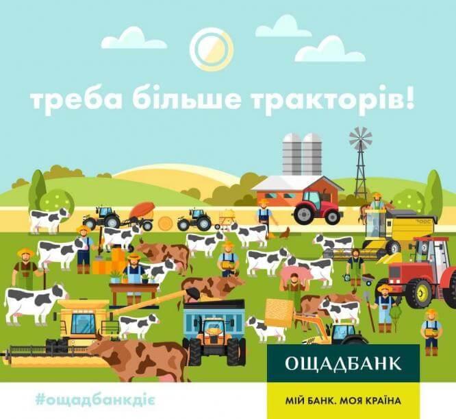 Ощадбанк виплатив найбільшу суму компенсацій аграріям за придбання вітчизняної сільгосптехніки