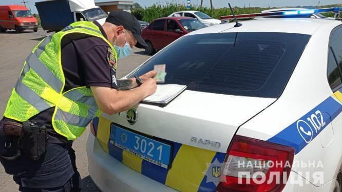 В Константиновке пьяный водитель предлагал 15 000 взятки полицейскому