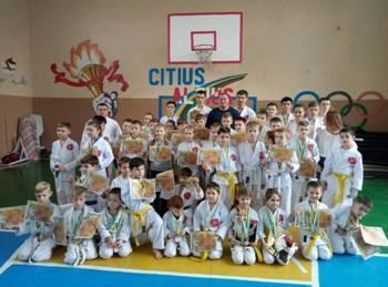 Константиновка победила в областном турнире по традиционному каратэ
