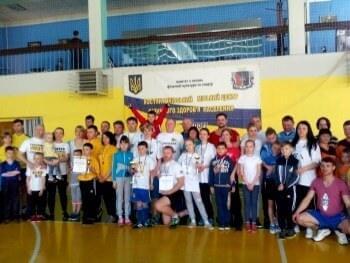 Финал соревнований «Мама, папа, я - спортивная семья» состоялся в Константиновке