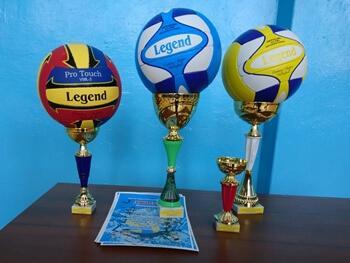 Команды Константиновского района боролись за первенство в волейболе